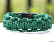 Kelly Green Paracord bracelet