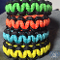 Neon Multicolored Paracord Bracelet