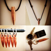 HOG TOOTH 50 BMG KeyChain/Necklace