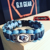Ridgeview Middle School - Navy Blue/Columbia Blue Bracelet