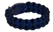 Navy Blue 550 Paracord Bracelet