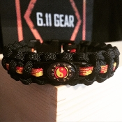 Bruce Lee's JKD Martial Arts Paracord Bracelet