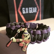 Teenage Mutant Ninja Turtles Donatello Green/Purple Bracelet