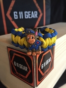 "Kid's Paw Patrol ""Chase"" Paracord Bracelet"