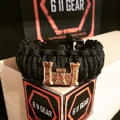 Army Corps of Engineers - Castle King Cobra Paracord Bracelet