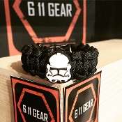 Star Wars - Storm Troopers Kid's Paracord Bracelet
