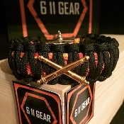 Crossed Cannons Paracord Bracelet