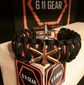 US Army ADA / Air Defense Artillery - Paracord Bracelet