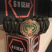 US Army Drill Sergeant King Cobra Paracord Bracelet