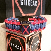 US Army 10th Mountain Concho Paracord Bracelet