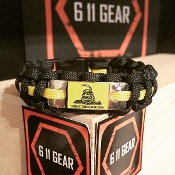 Don't tread on me - Paracord Bracelet