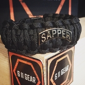 Sapper Tab - King Cobra Paracord Bracelet