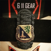 US Army Chemical Corps Paracord Bracelet