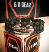 Combat Action Badge paracord Bracelet