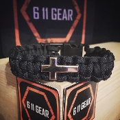 Cross Paracord Bracelet