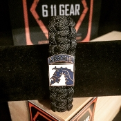 US Army 18th Airborne Corps Paracord Bracelet