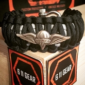 Rigger Wings - King Cobra Paracord Bracelet