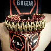 King Micro Cord/550 Paracord Bracelet