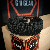 Black - King Cobra Paracord Bracelet