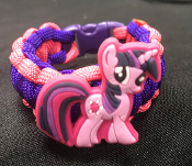 My little Pony - Twilight Sparkle Paracord Bracelet