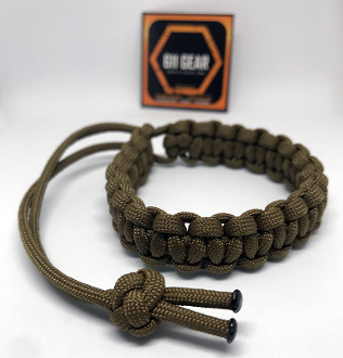 Mad Max - Style Paracord Bracelet
