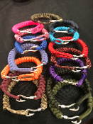 Fishhook snake braid paracord Bracelet