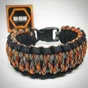 Texas Camo King Cobra Paracord Bracelet