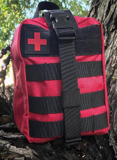 First Aid Pack Kit with 100 medical items