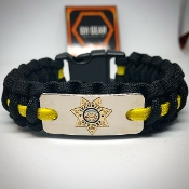 Security Officer Badge Paracord Bracelet
