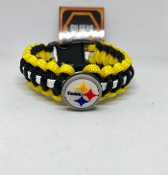 Pittsburgh Steelers  Paracord Bracelet