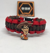 Toy Story - Sheriff Woody Kid's Paracord Bracelet