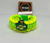Angry Birds -Pig King Paracord Bracelet