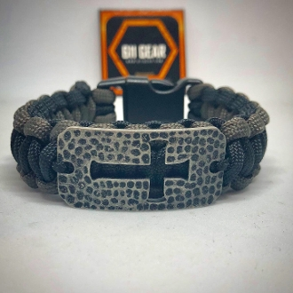 Ladies Cross Paracord Bracelet