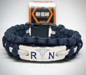 RN - Registered Nurse Paracord Bracelet