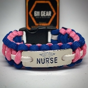 Nurses - Engraved Paracord Bracelet