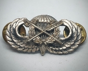 Airborne Jump Wings Judge Advocate General Badge JAG Pin
