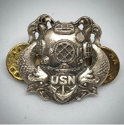 US Navy Diver First Class USN Badge