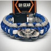 USAF Security Forces (Small Badge) Paracord Bracelet