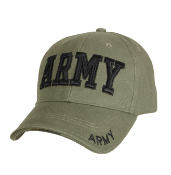 Army - OD Embroidered Low Profile Cap