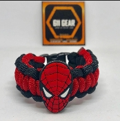 "Kid's ""Spider-man"" Paracord Bracelet"