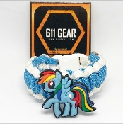 My Little Pony - Rainbow Dash Paracord Bracelet