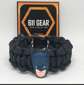 Batman Mask Kid's Paracord Bracelet
