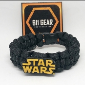Star Wars logo Kid's Paracord Bracelet
