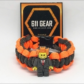 Lego Movie - Lord Business Kid's Paracord Bracelet