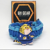 Zootopia - Clawhauser Kid's Paracord Bracelet