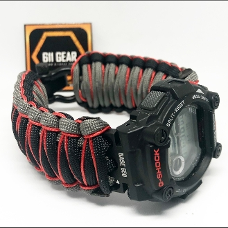 Custom Gshock Micro cord -King Cobra Paracord Watch Band