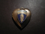 Locket - Army Berlin USAREUR Charm DOUBLE PHOTO