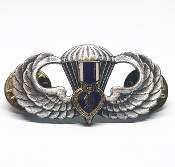 Airborne Purple Heart Jump Wing Badge