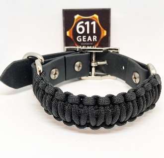 Large Dog Adjustable Paracord Collar