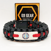 US Army National Guard Paracord Bracelet